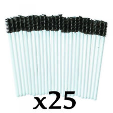 Disposable Eye Make Up Brush Mascara Applicators Pack of 25 by Strictly Pro