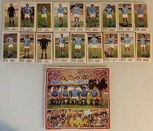 Figurina Sticker Calciatori Panini 1974 75 Team squadra NAPOLI completa NEW