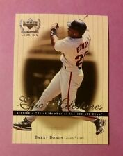 LEGEND BARRY BONDS (SP) EPIX MILESTONES INSERT #EM-10 1999 UD CENTURY LEGENDS