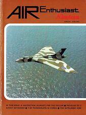 AIR ENTHUSIAST #19 AUG-NOV 82: VULCAN HISTORY/ DC-2/ THUNDERJETS IN KOREA/ A5M