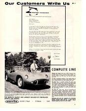 1961 DEVIN KIT CAR ~ ORIGINAL PRINT AD
