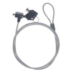 Notebook Laptop Computer Security Kensington Cable Chain With Key Lock