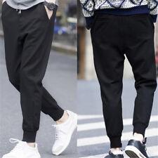 Men Long Casual Sports Pants Gym Slim Fit Trousers Dance Jogger Gym Sweatpants #