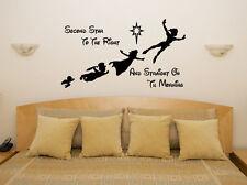 Peter Pan Segundo ESTRELLA - Disney Infantil Adhesivo para dormitorio pared