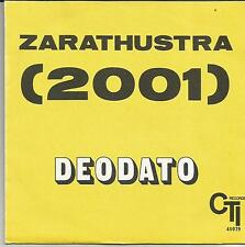 DEODATO Zarathustra (2001) FRENCH SINGLE CTI 1973