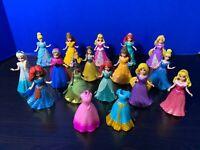 Lot of 15 Disney Princess MagiClip Dolls - All 10 Different Princesses, + More!!