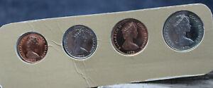 1976 Cook Island 4 Pcs Proof Set UNCIRCULATED (J2AB)