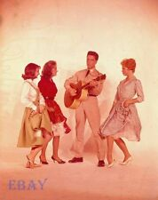 Elvis Presley Juliet Prowse Vintage  8  X  10 TRANSPARENCY G.I. Blues