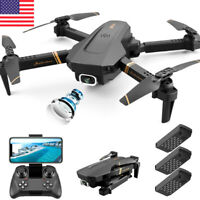 New 2020 drone 4K HD dual camera WiFi FPV 1080p RC Quadcopter Ship from US