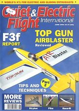 QUIET & ELECTRIC FLIGHT INTERNATIONAL MAGAZINE 2006 JUN TOP GUN AIRBLASTER