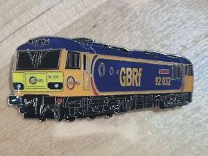 GBRf Class 92 - 92032 Enamel Brooch Pin Badge