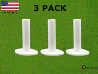 "Golf Rubber Tee 3 Pack For Driving Range Practice 1.5"" 2.25'' 2.75'' 3'' 3.13''"
