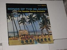 33 rpm HAWAIIAN SURFERS song of the islands MUSICOR MS 3054 nice SEE PICS