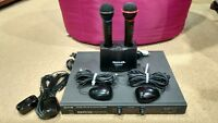 BMB Wireless Infrared Dual Microphone WM-300 Charger MC-300 + Receiver WT-5000