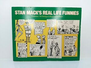 1979 Oversized Paperback Book - Stan Mack's Real Life Funnies - Comics Paperback