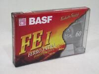 Cassette Audio Vierge NEUVE BASF FE I 60 FERRO EXTRA position normal K7