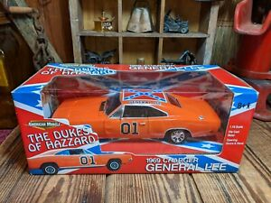 Ertl 1/18 Scale Dukes Of Hazard General Lee 1969 Dodge Charger Box Wear