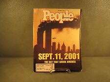 People Magazine Sept. 11, 2001 The Day That Shook America September 24, 2001 Iss