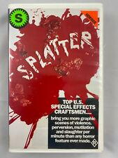 Splatter VHS Cult Horror Rare