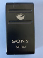 Genuine SONY NP-80 Rechargeable Battery 2700mAh for Video 8 Camcorders