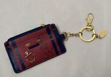 Disney Cruise Line Captain Mickey Card Holder Pocket Wallet w/Zipper Coin Purse