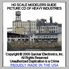 DETAIL WEATHER AND BUILD YOUR HO SCALE HEAVY INDUSTRIES PICTURE CD REFERENCE