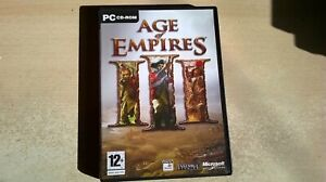 AGE OF EMPIRES III 3 - PC GAME - ORIGINAL & FULLY COMPLETE inc MANUAL & TechTree