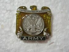 Army Lapel Pin - Hat Pin Style #3 Made In U.S.A.