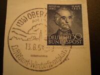1953 Justus von Liebig XFU on piece