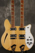 RARE 1979 Rickenbacker 362-12 Double Neck MAPLEGLO!!! w/CHECKERBOARD BINDING!!!