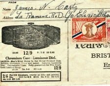 More details for dominican republic advert illustrated cover watches 1936 jewellery rings ma703