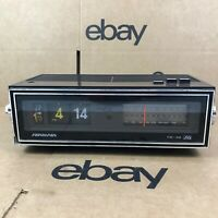 Vintage 1975 Soundesign Flip Number FM-AM Radio Alarm Clock Model 3480 8.B6