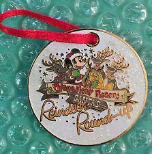 Disney Dlr - Santa's Reindeer Round-Up - Ornament Pin
