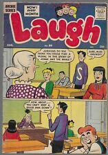 Laugh Comics #89 1958 Archie Comics Silver Age Comic Book Katy Keene
