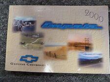 2000 Chevy Impala Sedan Owner Owner's Manual User Guide LS 3.4L 3.8L V6