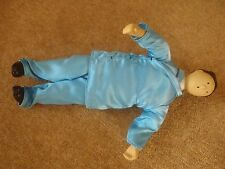 "1994 Tintin Doll - The Blue Lotus - porcelain head and legs - 10"" (25cm) tall."