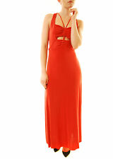 Free People Women's Hypnotized Knit Maxi Dress Sleeveless Red RRP £128 BCF612
