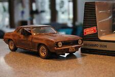 1:18 1969 Chevrolet Camaro SS V8 Patina Hot Rod BARN FIND Gas Monkey UNRESTORED