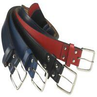 "Athletic Belt Leather 1.5"" Baseball Softball Fastpitch Team Sport Adult 6240"