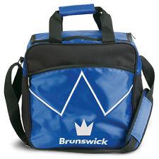 Brunswick Blitz Single Tote 1 Ball Bowling Bag Blue