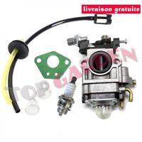 Carburateur & Joint Kit pour Débroussailleuse Multifonctions 5en1 52cc 49cc 43cc