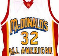 LEBRON JAMES McDONALDS ALL AMERICAN JERSEY  McDONALD NEW SEWN   ANY SIZE