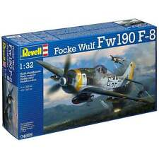 Revell 1:32 Scale Focke Wulf Fw190 F-8 'Schlachter' Model Aircraft Kit RR04869