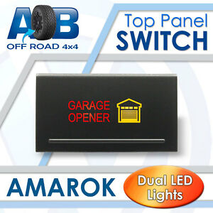 Amarok Push Switch A2B86M GARAGE OPENER MOMENTARY LED 12V 3A for Volkswagen TOP