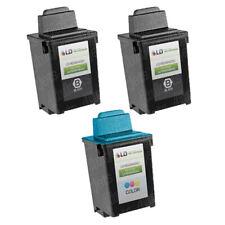 3pk 17G0050 50 60 Color Printer Ink Cartridge for Lexmark Z Series Z12 Z22 Z32