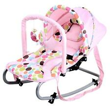 Grace Baby Harmony New Born Baby Rocker Seat with Canopy - Pink