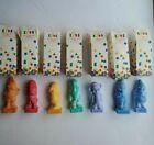 Vintage Avon Disney Seven  Dwarfs Childrens Multi Colored Soap w Boxes 1994