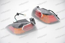 1Pair Outer Rear Tail Light Lamps Black Holder For Mitsubishi Lancer 2009-2015