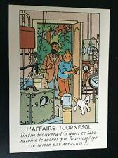 Carte postale Tintin Arno 1984