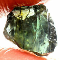 Express Handling - 2.65 Carat - Untreated Sapphire - Blue Green Facet Rough